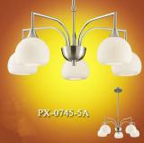 Свет высокого качества самомоднейший крытый декоративный стеклянный привесной (PX-0745-5A)