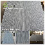Tuile grise noire de basalte de pierre de lave de bluestone pour des machines à paver/pavage/étage/revêtement de plancher/mur