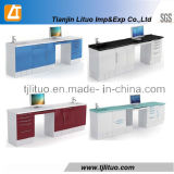 New Style Corner Tyle Medical Metal Dental Cabinet