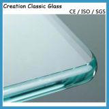 Vidro Temperado Liso de 3,4-19mm para Porta com Certificado de ISO/Ce/SGS