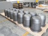 Petróleo del arrabio del compresor del tornillo de la refrigeración y vaso del separador de agua