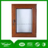 Гостиница Using холодное упорное алюминиевое деревянное окно Compand с различными конструкциями