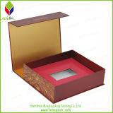 Коробка UV дух упаковки отделкой твердого бумажная