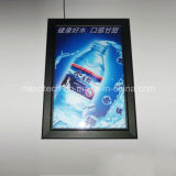 Restaurante Muro montado Snap Open LED Menu / Poster Frame Light Boxes