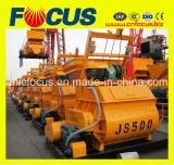 Mélangeur concret de Jumeau-Axe (JS500 JS750 JS1000 JS1500 JS2000 JS3000 JS4000)