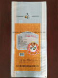 saco 25kg tecido PP laminado BOPP transparente para o arroz