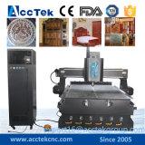 Acryl, Triplex, MDF, de Plaat van het Aluminium, Plastic CNC van de Router van de Raad Machine