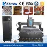 Acryl, Furnierholz, MDF, Aluminiumplatte, Plastikvorstand-Fräser CNC-Maschine