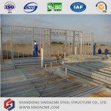Construção de aço da casa do calibre leve Prefab