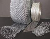 Maille liquide tricotée de filtre de /Gas de treillis métallique de l'acier inoxydable 304