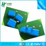 Ionenbatterie-Satz des Li-Ionbatterie-Satz-3s 11.1V 18650 nachladbarer des Lithium-2200mAh