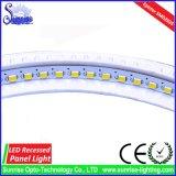 AC85-265V 6W rundes vertieftes LED Panel/Deckenleuchte