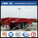 3axle Gerades-Beam Fence Semi Trailer mit Main Beam Widened und Thickened