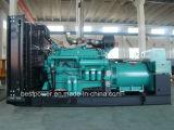 700kVA ouvrent le groupe électrogène diesel Yuchai produisant du jeu
