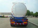 Massenpuder-materieller Tanker-LKW-Schlussteil-halb Schlussteil des kleber-60cbm