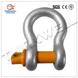 熱いすくいは造られた鋼鉄G209ねじPinの手錠か弓手錠に電流を通した