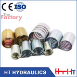De Hydraulische Gesmede Metalen kap van de fabrikant voor de Slang van SAE 100r2at/En 853 2sn (00200)