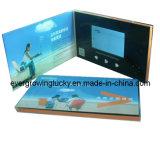 """Tarjeta de felicitación video de la pantalla del LCD de la alta calidad 4.3 """""""