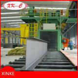 Macchinario d'acciaio di granigliatura della sezione per rimuovere ruggine