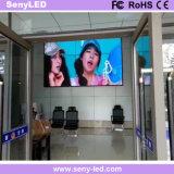 Pequeño vídeo del pixel que hace publicidad de la visualización de LED de alquiler de la etapa del panel