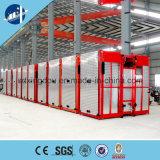 De Lift van de bouw/Hoist/Elevtor met naait Omschakelaar Reducer/Zhangjiang Motor/Yaskawa/Hyrc