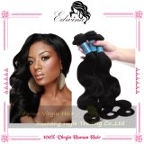 6A Unprocessed Malaysian Body Wave Remy Hair 100%년 Virgin Human Hair Extension