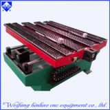 Plate-forme simple d'exécution estampant la machine plate de presse de perforateur de commande numérique par ordinateur de rondelles