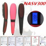 Spazzola elettrica Beautystar del raddrizzatore dei capelli dell'affissione a cristalli liquidi Nasv300 della generazione 3 della fabbrica