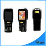 Android terminal PDA dos dados móveis Handheld ásperos do varredor do código de barras