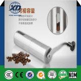 Máquina de trituração manual portátil do moedor do feijão de café do aço inoxidável