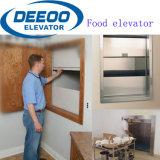Kleiner HöhenruderDumbwaiter der Einsparung-Mahlzeit-Küche-Nahrungsmittelwaren-100kg