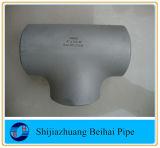 Te de acero Sch80/Xsb 16.9 de /Straight del igual de la instalación de tuberías de acero de Ss316/316L