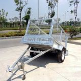Sale (SWT-BT64-L)를 위한 경사 Light Duty Farm Trailer