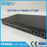 Gateway portuario vendedor superior del interruptor local 32 FXO FXS VoIP de los productos
