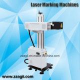 Он-лайн машина маркировки лазера волокна маркировки 20W для металлов