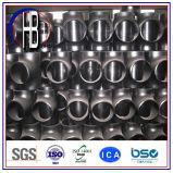 Schweißungs-passender Stahlkohlenstoffstahl des Kolben-A234/A105, der T-Stück verringert