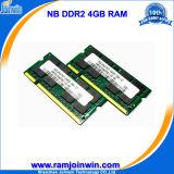 Niedriges Density 200pin DDR2 4GB 800MHz RAM für Laptop
