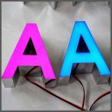 LEDによって照らされる経路識別文字のエポキシ樹脂接着剤の鋳造