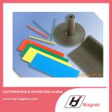 De super Sterke Aangepaste Rubber Permanente Magneet van /NdFeB van het Neodymium N35-52 in China