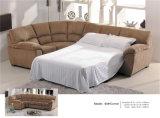 Sofa de Recliner de cuir véritable (608)