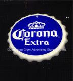 Corona Extra Beer Sign Ad Wall Decor Boîte à lumière LED