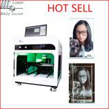 2015 ökonomischer Preis, kosmetisches Kristallgeschenk, innere/unter der Oberfläche liegende Gravierfräsmaschine Laser-3D