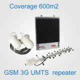 27dBmシグナルのアンプのデュアルバンドの移動式シグナルのブスターGSM 900 UMTS2100MHz 2g 3Gの屋内中継器