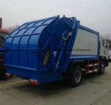 Compressa dei rifiuti di Shacman 10t & camion di trasporto