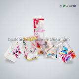Pacote plástico ajustado do cosmético Foldable popular do pacote da composição