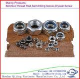 Placage en nylon de zinc d'écrou de blocage de /Nylon d'écrou de blocage de la garniture intérieure DIN985