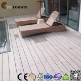 Decking composto plástico de madeira expulso recicl 100%