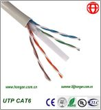 Cabo da fibra óptica de UTP CAT6 no estoque com baixo preço