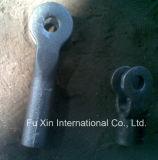 Pièce de bas-de-ligne de fonte d'aluminium