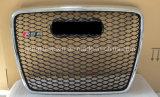 """Chromé avant Auto Car Grille (logo noir) pour Audi RS6 2005-2012 """""""
